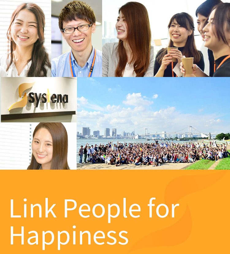 Link People for Happiness